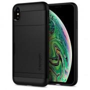 Spigen Slim armure Protection CS Case iPhone XS Max étui noir