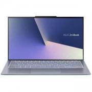 Лаптоп, Asus ZenBook S13 UX392FN-AB011R, Intel Core i7-8565U (up to 4.6GHz, 8MB), 13.9 инча, FHD LED Glare IPS, 8GB LPDDR3, 512GB SSD, NVIDIA GeForce MX150 2GB GDDR5, Blue, Син, 90NB0KZ1-M01420