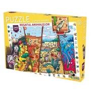 Puzzle Lumea vesela - Regatul animalelor, 240 piese