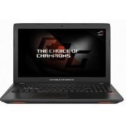 Asus ROG gl553vd-fy076t 39,6 cm (15,6 inch Mat Full-HD Display) notebook (Intel Core, HDD harde schijf, NVIDIA GTX, DVD, Win 10) Zwart, zwart