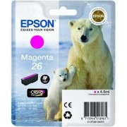 Kazeta EPSON XP-600/700 T2613 26 Claria Magenta