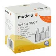 Medela Medizintechnik GmbH & Co. Handels KG MEDELA Habermann Ersatzsauger 3er-Set 1 St
