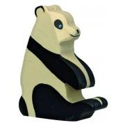 Fa játék állatok - panda