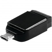 Verbatim Store 'n' Go Nano USB With Micro USB Adapter 16GB - 49821