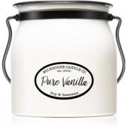 Milkhouse Candle Co. Creamery Pure Vanilla lumânare parfumată 454 g Butter Jar