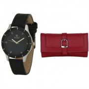 Evelyn Wrist Watch With hand Purse-LBBR-272-018