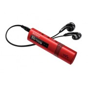 MP3 Player, Sony NWZ-B183F, 4GB, Quick-Charge, FM tuner, Drag&Drop files, Red (NWZB183FR.CEW)