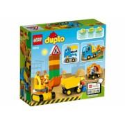 Camion si excavator pe senile LEGO DUPLO 10812
