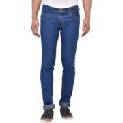 Stylox Men's Slim Fit Casual Wear Light Blue Jeans