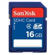 Card memorie SDHC SanDisk 16GB Class 4