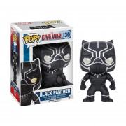 Black panther black panther capitan america 3 Funko pop civil war 2016 marvel INCLUYE BOLSA POP PARA REGALO