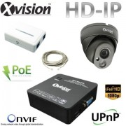 IP CCTV set 1x Full HD IP dome kamera + NVR