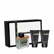 Dsquared² Dsquared2 He Wood Intense Eau De Toilette Spray + Gel Doccia + Latte Corpo 30ML