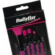 Set pensule Babyliss 5 bucati Negru-roz