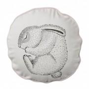 Perna decorativa Sleeping Rabbit Nude, Ø30 cm