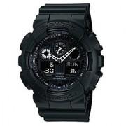 G-Shock Analog-Digital Black Dial Mens Watch - Ga-100-1A1Dr (G270)