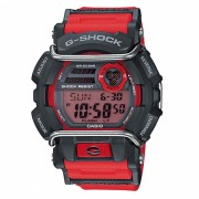 reloj digital estandar casio g-shock GD-400-4-rojo