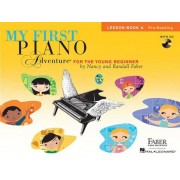 My First Piano Adventure, Lesson Book A, Pre-Reading: For the Young Beginner [With CD (Audio)], Paperback