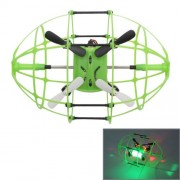 M69 2.4GHz 4-Channel Remote Control Mini Quadcopter with 6-axis Gyro(Green)