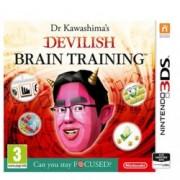Dr Kawashimas Devilish Brain Training: Can you stay focused, за 3DS