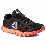 Pantofi Reebok - Yourflex Trainette 9.0 Mt BS8042 Black/Guava Punch