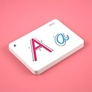 Alphabet Flash Cards - 26 Alphabet Card A-Z Capital Letters for School Teachers, Parents - Early Learning of Toddlers and Kids of All Ages