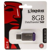 Kingston Chiavetta USB 8 GB No USB 3.0 TLC No 0 → +60°C, DT50/8GB