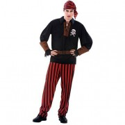 Viving Costumes S.L Disfarce AdultoHomem Pirata Bandana M-L