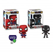 Spider man stealth suit hero suit Funko pop far from home pelicula