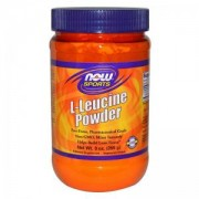 Л-Левцин на прах 255 грама - L-Leucine Powder - NOW FOODS, NF0241