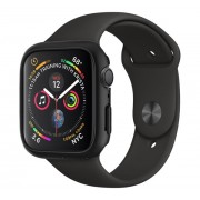 Spigen SGP Thin Fit Apple Watch S4/S5 44mm Fekete tok, szíj nélkül