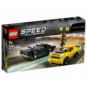 LEGO Speed Champions, 2018 Dodge Challenger SRT Demon si 1970 Dodge Charger R/T 75893