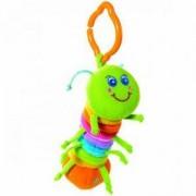 Плюшена играчка за количка - малки умничета - гъсеничка, Tiny love, 076222