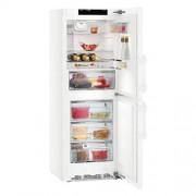 GARANTIE 4 ANI Combina frigorifica Liebherr, BluPerformance, Congelator NoFrost, Clasa A+++, alb CNP 3758