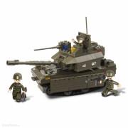 Sluban schaalmodel tank met groot kanon 33 x 23,7 x 5,4 cm