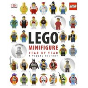 Lego Minifigure Year by Year: A Visual History [With Three Collectable Figurines], Hardcover