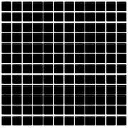 Maxwhite H37 Mozaika skleněná černá antracit 29,7x29,7cm sklo