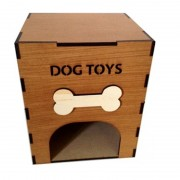 Wooden Dog Toys Box