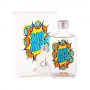 Calvin Klein CK One Summer 2019 confezione regalo eau de toilette 100 ml + eau de toilette CK One 15 ml unisex