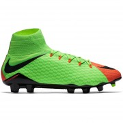 Zapatos Fútbol Hombre Nike HypervenomX Phatal III FG + Medias Largas Obsequio