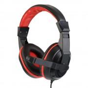 Headset Diepe Bas Bedrade Gaming Oortelefoon 3.5mm Verstelbare Hoofdtelefoon met Microfoon voor Computer Telefoon Mp3-speler