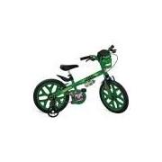 Bicicleta Aro 16 Hulk Avengers Bandeirante Verde