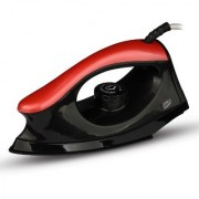 MONEX Majestry Non-stick Extra-power solid 1000 W Dry Iron (Black-Red)