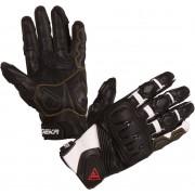 Modeka Baali Motorcycle Gloves Black White L