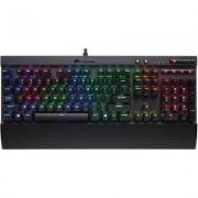 Геймърска механична клавиатура Corsair K70 LUX RGB - Cherry MX RGB Brown