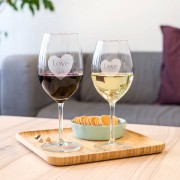 Personalised Engraved Wine Glasses