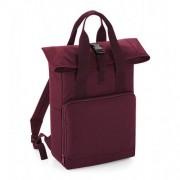 Bag base Twin Handle Roll-Top Backpack Burgundy