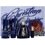 Christian Audigier For Him lote de regalo I. eau de toilette 100 ml + eau de toilette 7,5 ml + deo barra 78 ml + gel de ducha 90 ml