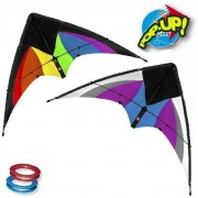 Rhombus Speelgoed Pop-up Kite Stunt Magic - Veelkleurig