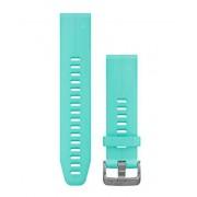 Garmin QuickFit 20 Silikon - Klockarmband - Frostblå
